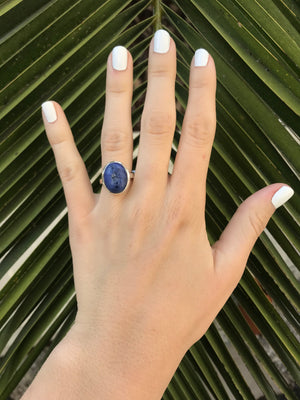Sodalite Medium Oval Ring