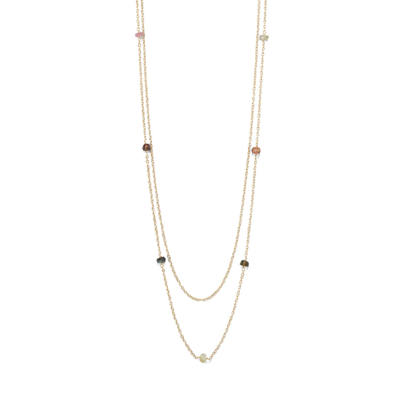 Tourmaline Layered Necklace