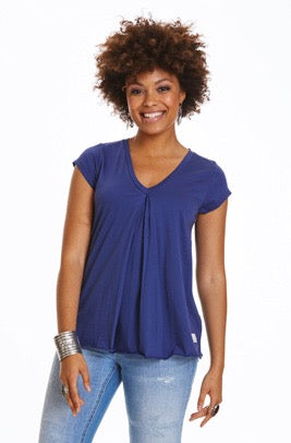 Pick Up s/s Deep Cobalt Top