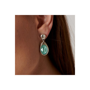 Flashes Green Earrings