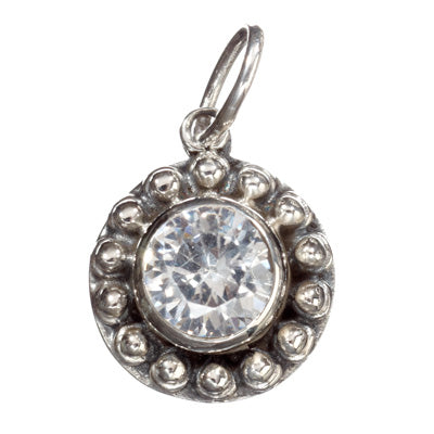 Sunflower Zircon Pendant