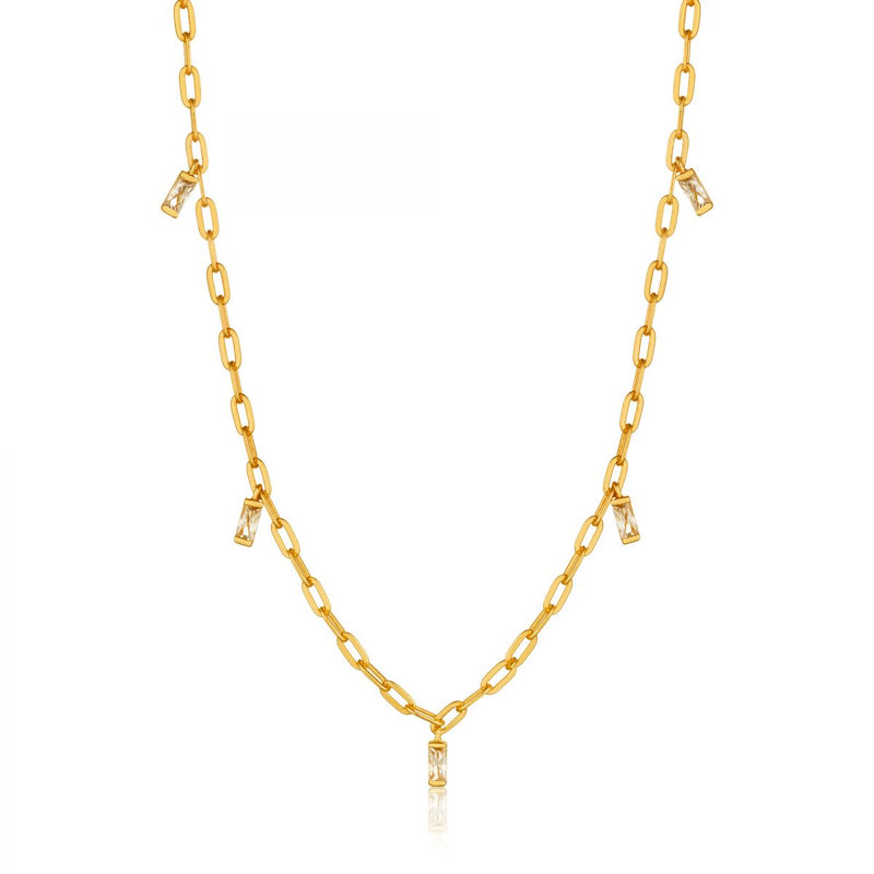 Glow Gold Drop Necklace
