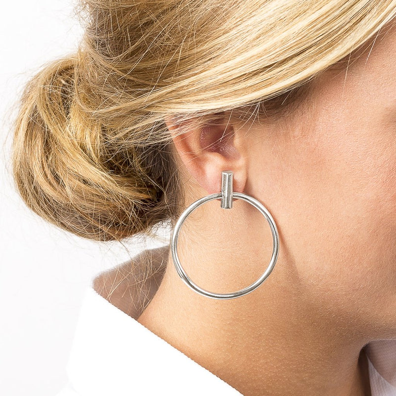 Lauren Large Hoop Earrings