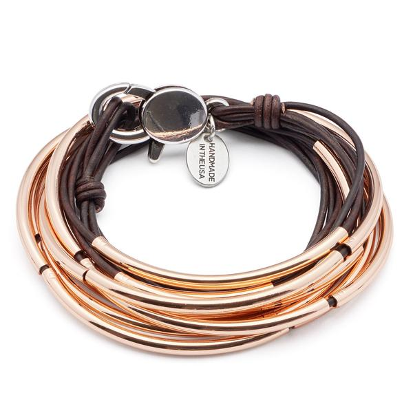 Lizzy Classic Rose Gold Bracelet
