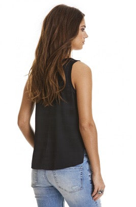 Won't Stop Almost Black Tank Top