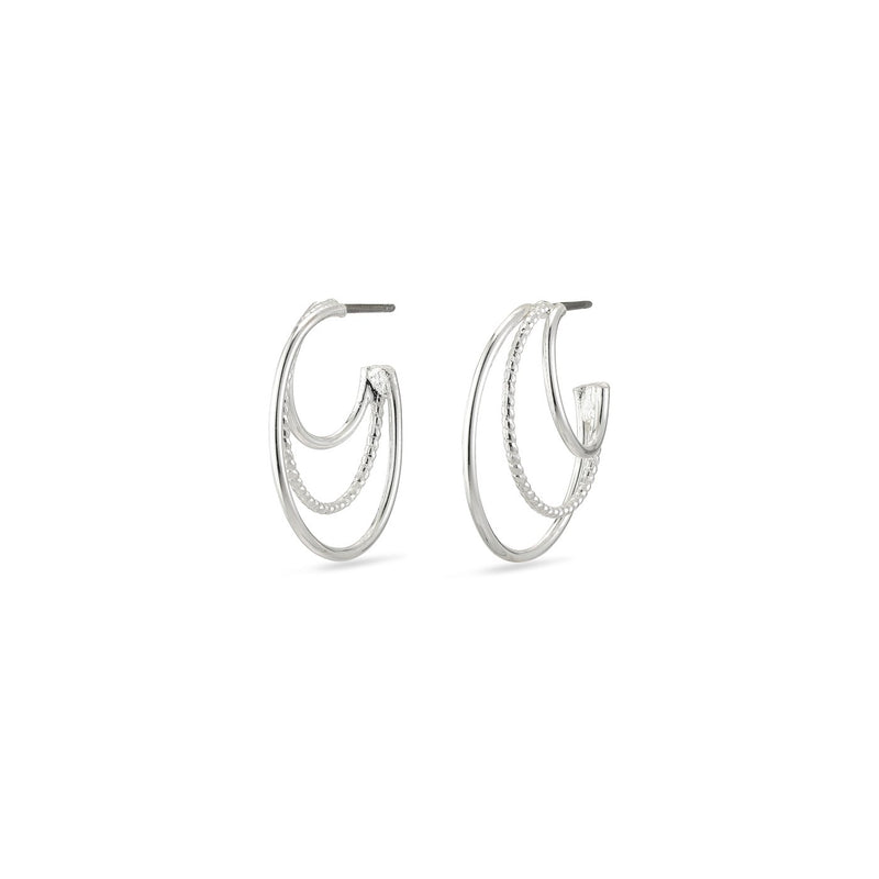 Freya Silver Earrings