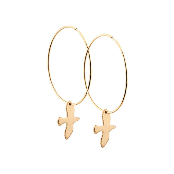 Dove Hoops Bronze
