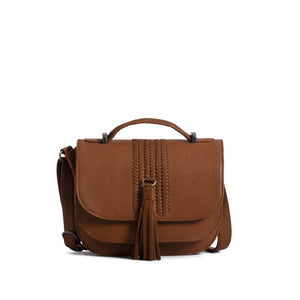 Faith Top Handle - Cognac