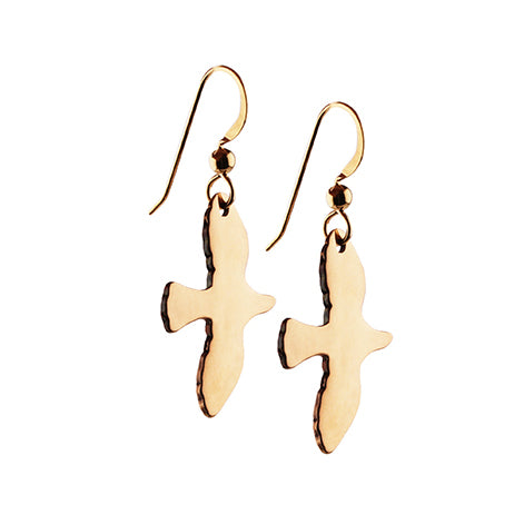 Golden Dove Earrings