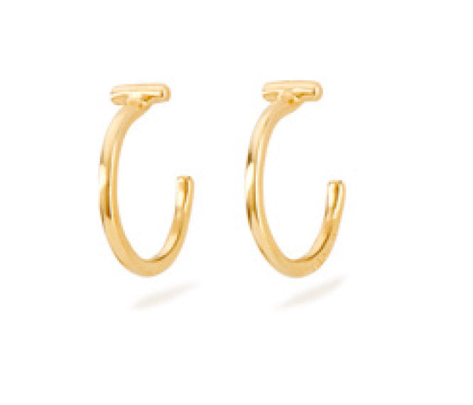 It's Electrifying Earrings, Gold