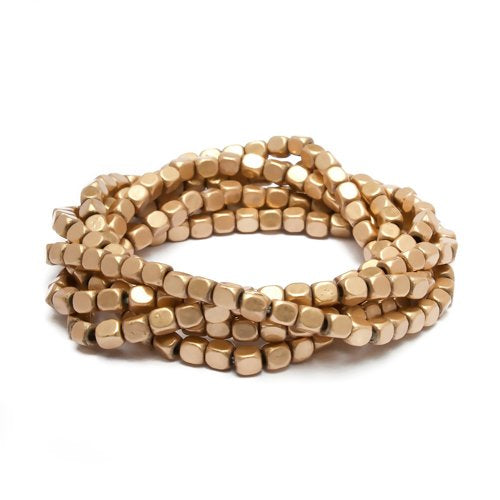 Stretch Gold Bracelets