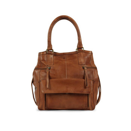 Hannah Small Bag - Cognac