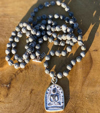 Buddha Grey Jasper Necklace