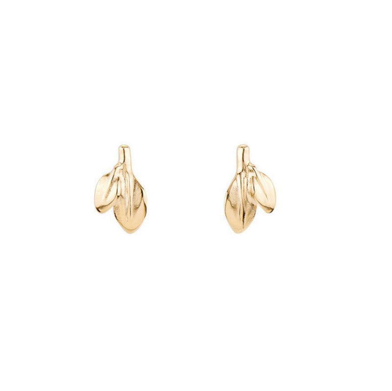 Leaves Earrings - Gold