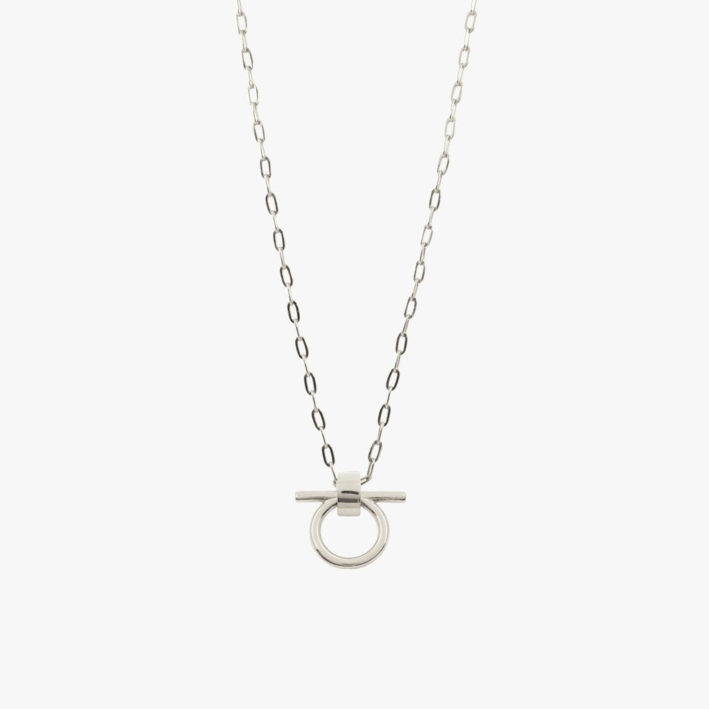 Omega Small Silver Necklace