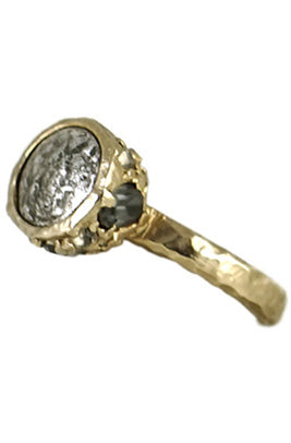 Gold Cantabira Coin Ring
