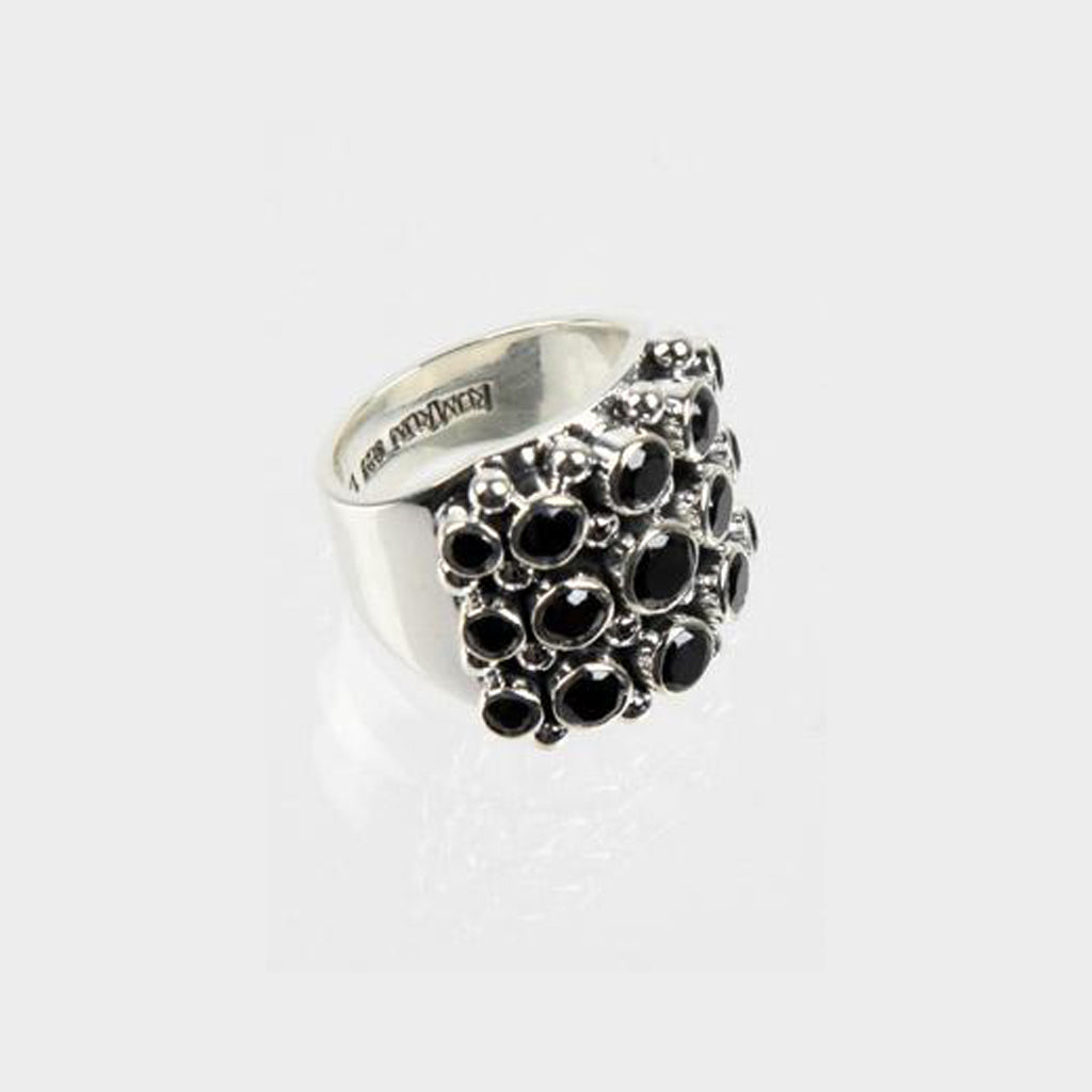 Hotcake Black Ring