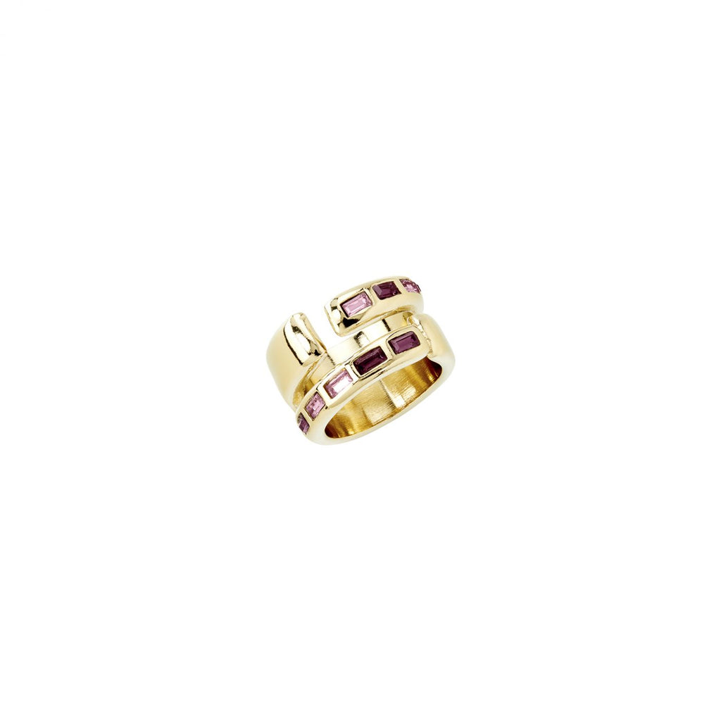 Nightbird Wrap Ring - Gold