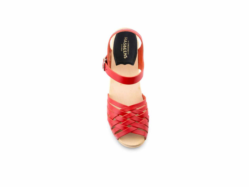 Braided High Sandal