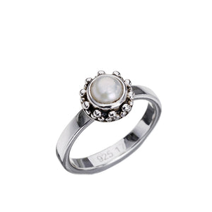 Coco Pearl Silver Ring