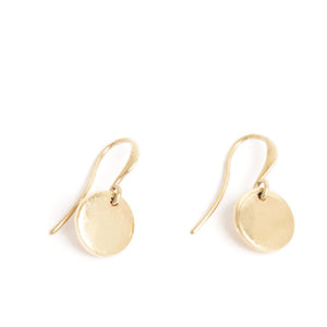 Coin Bronze Earrings