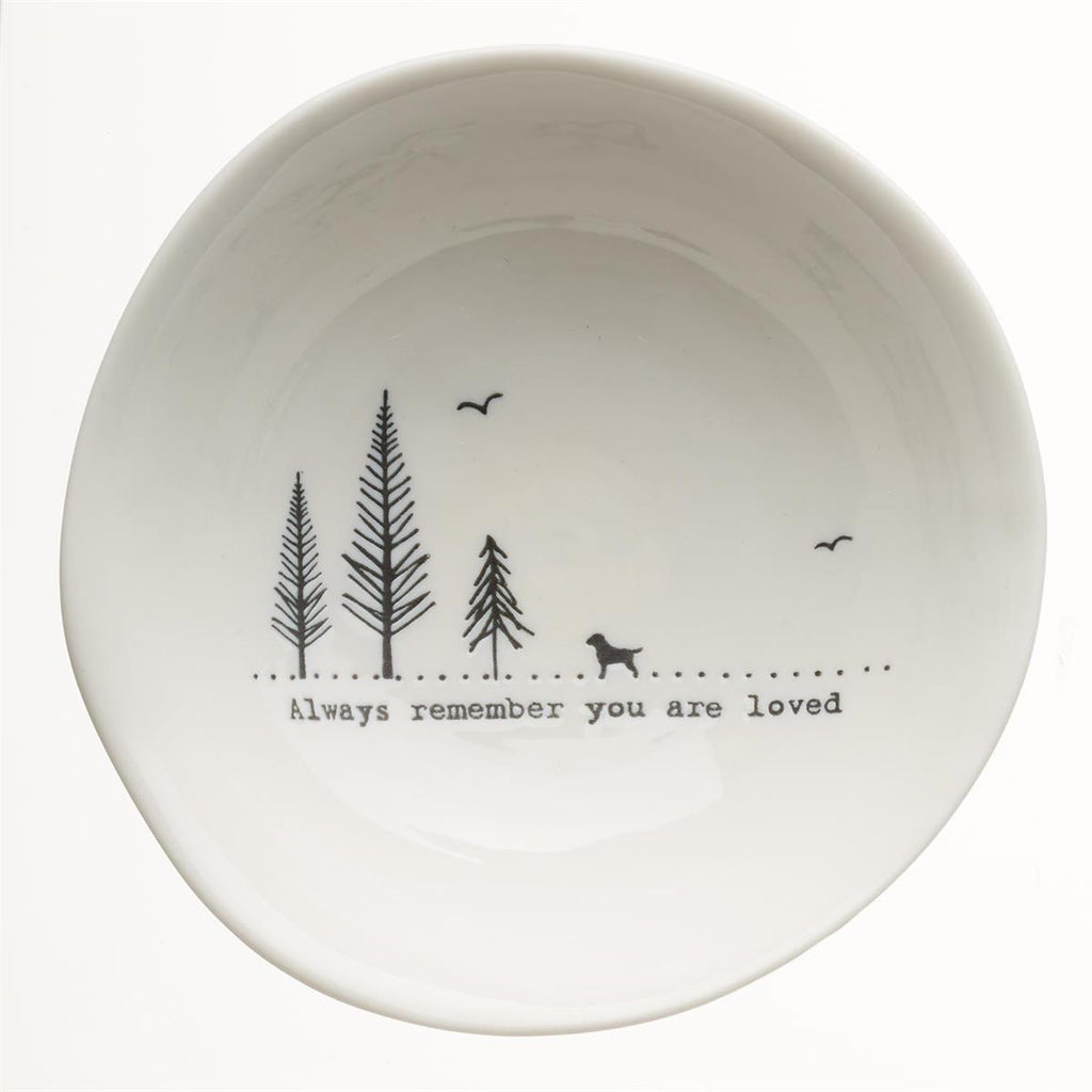 Medium Trinket Bowl - Loved