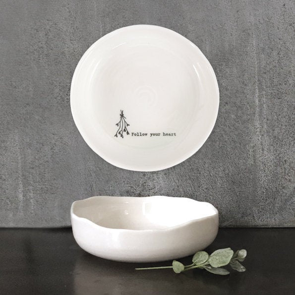 """Follow your Heart"" Change Bowl"