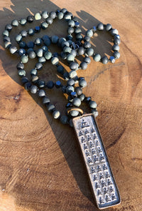 Buddha Forest Jasper Necklace