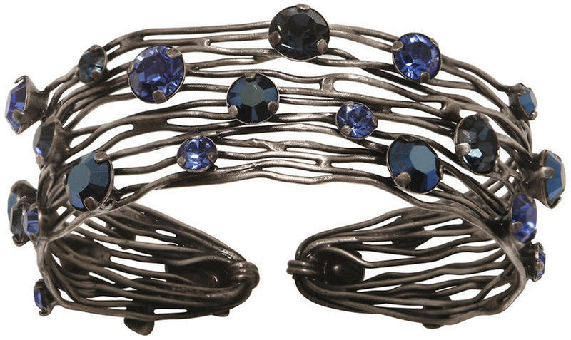 Cages Blue Bracelet Cuff