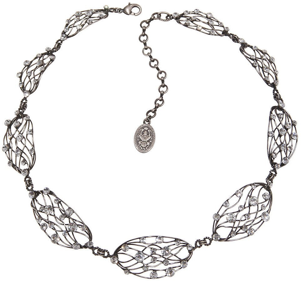 Cages White Necklace