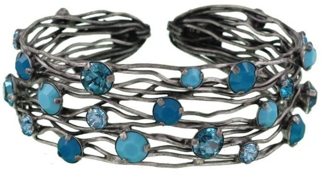 Cages Turquoise Blue Bracelet Cuff