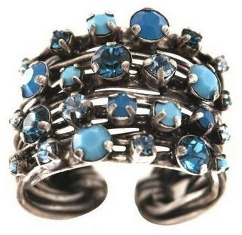Cages Turquoise Blue Ring