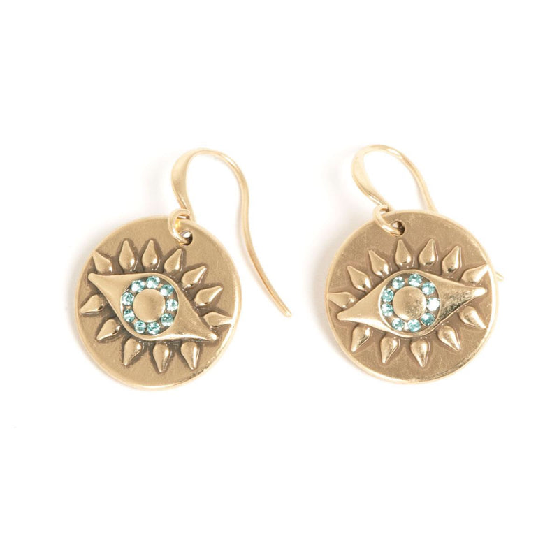 Eyes Hook Earrings