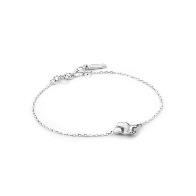 Crush Silver Square Bracelet