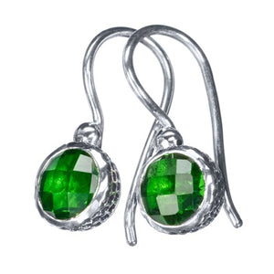 Vega Green Earrings