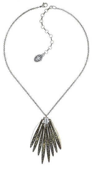 Global Glam Crystal Pendant Necklace