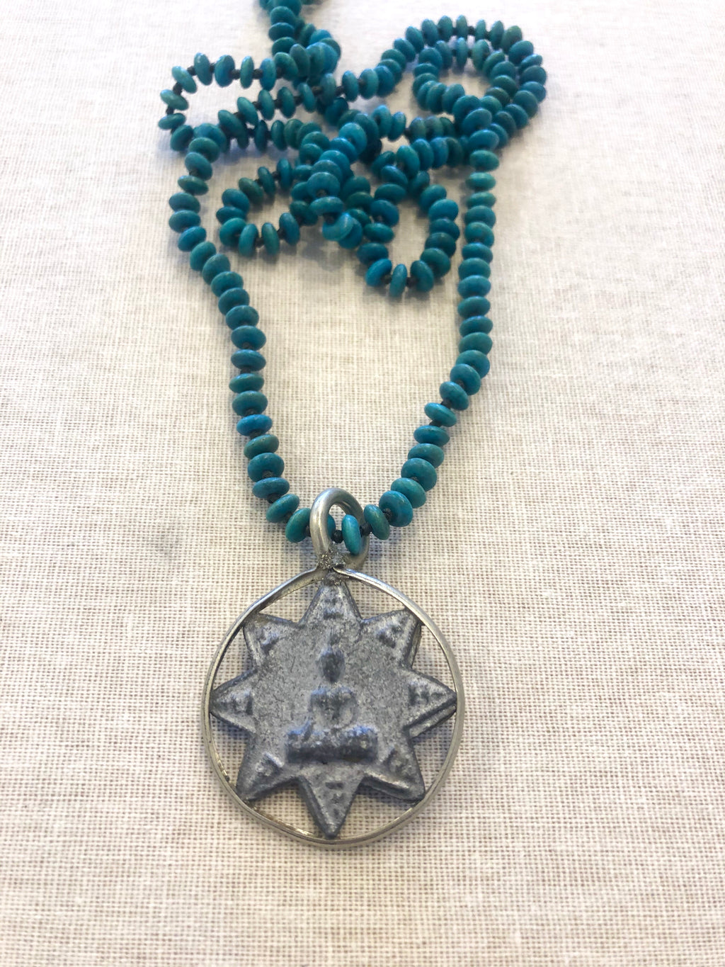 Buddha Star Necklace