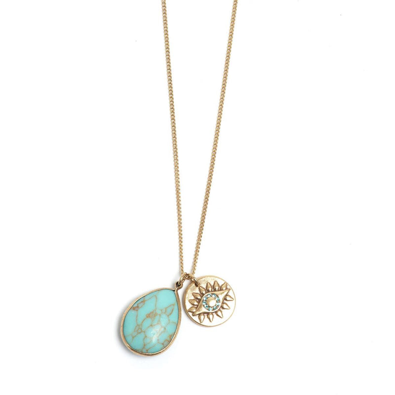 Eyes Turquoise Necklace
