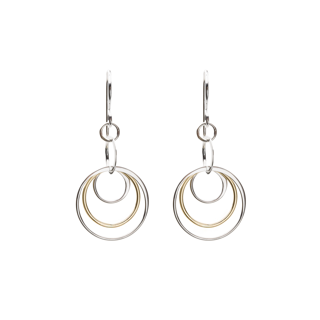 Cynthia Concentric Circle Earrings