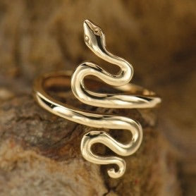Bronze Serpent Ring