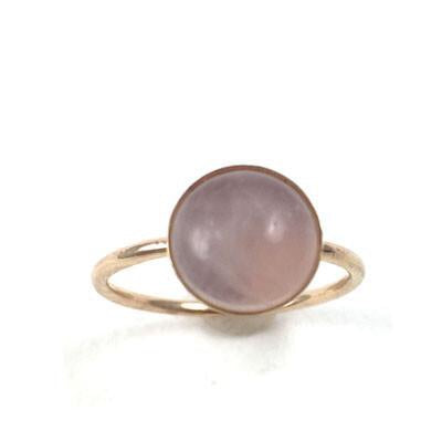 Rose Quartz Ring - Large