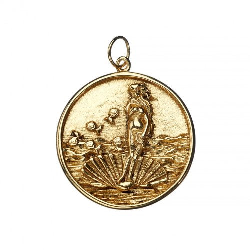 Love Goddess Gold Pendant