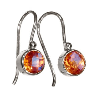 Mars Champagne Earrings
