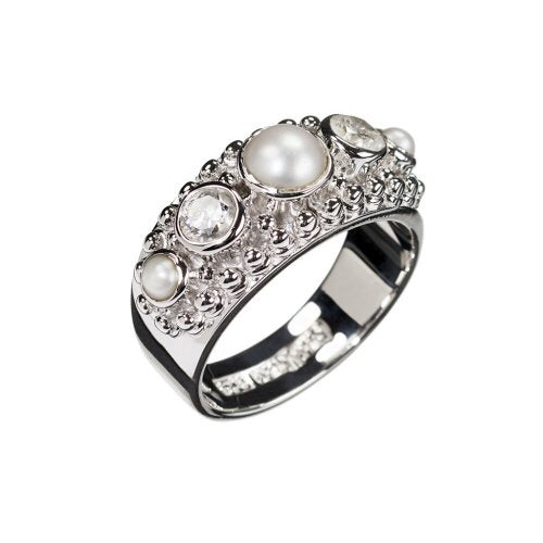 Love Story Silver Ring