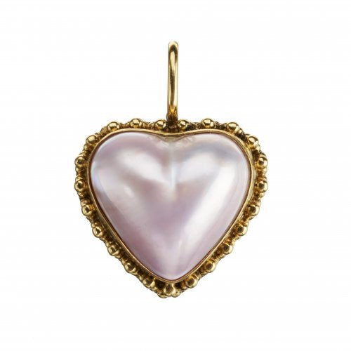 Mabe Pearl Pink Pendant