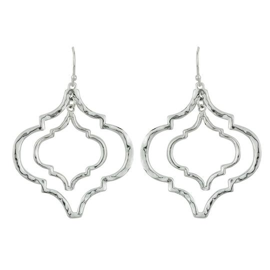 Tangiers Silver Earrings