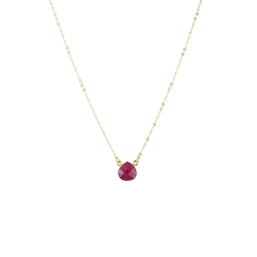 Cosmos Mini Berry Agate Necklace