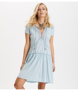 Horizon Blue Love Chimes Dress - Final Sale Item