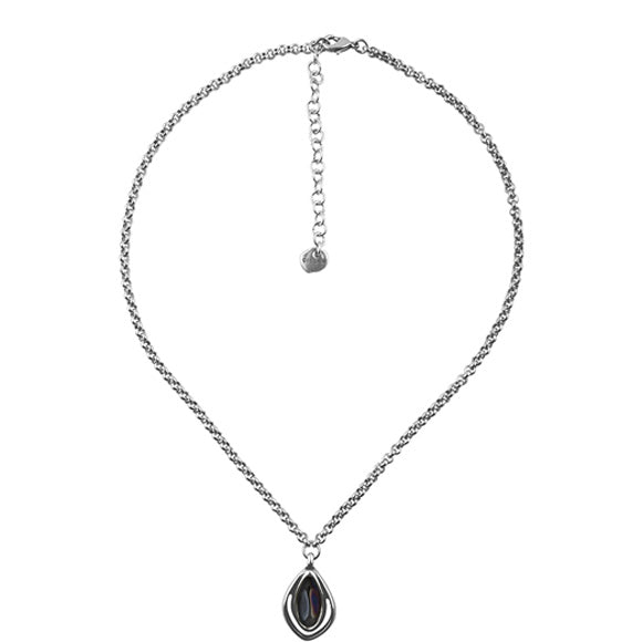 Luminara Hematite Necklace - Final Sale Item