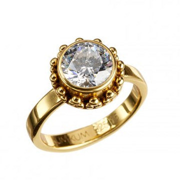 Moana Zircon Gold Ring